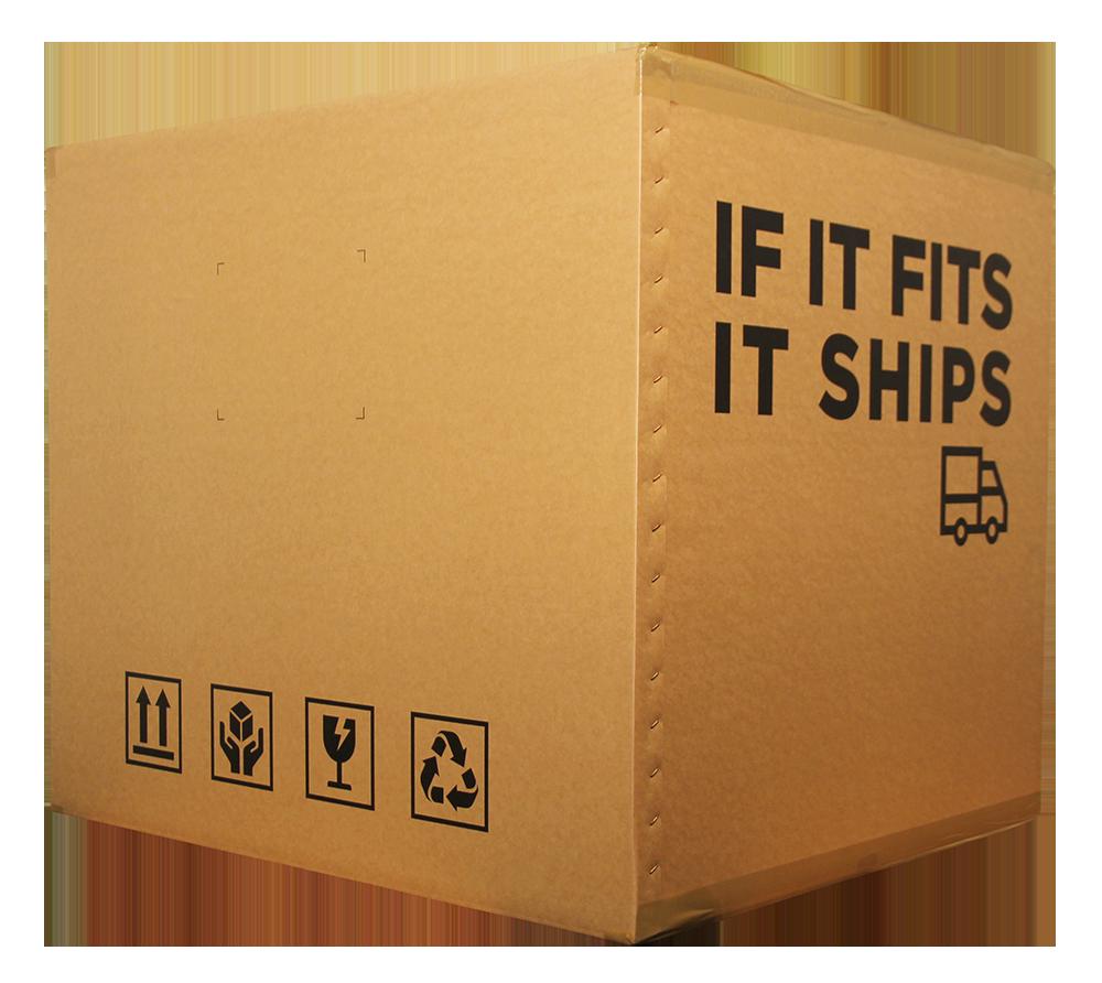 Grote doos per zeevracht versturen naar curacao